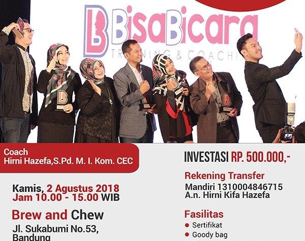 Bisa Bicara Training and Coaching