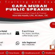 pulic speaking bandung